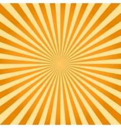 Sunburst ray retro background vector