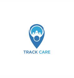 Track care logo vector