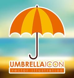 umbrella design vector image