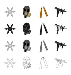 war army armament and other web icon in cartoon vector image