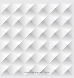 white geometric background seamless pattern vector image