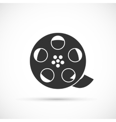 Film reel icon vector image vector image