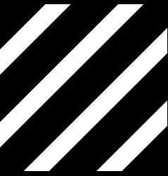 black diagonal lines repeat straight stripes vector image