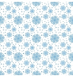 Seamless ector Background With Snowflakes vector