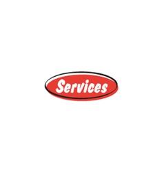 Services button vector
