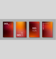 set abstract bright colors minimal cover design vector image