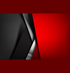 Abstract background dark with carbon fiber vector