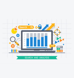 Search and analysis vector