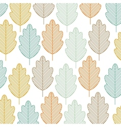 leaf background plant nature garden icon vector image