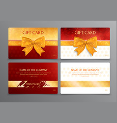 Discount scratch gift card design vector