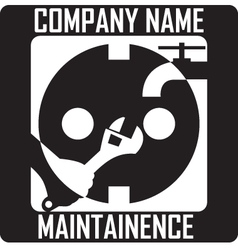 Maintainence logo vector