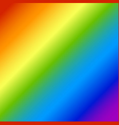 rainbow abstract blurred background an vector image