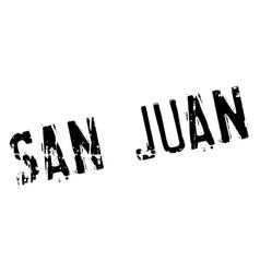 San Juan stamp vector