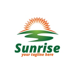 Sunrise logo vector