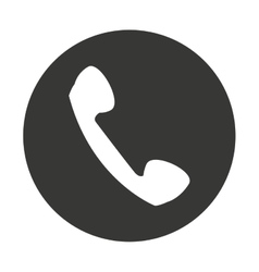 telephone retro isolated icon vector image
