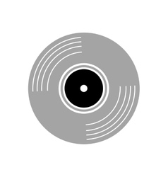 vinyl vintage record vector image