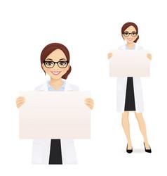woman witn board vector image