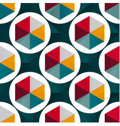 Abstract geometric seamless pattern for your vector