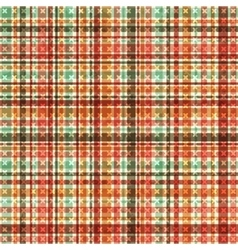 Abstract seamless tartan pattern vector