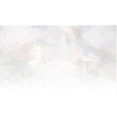 abstract white light geometric polygonal vector image