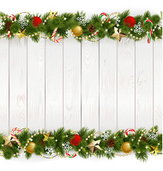 christmas background with golden stars vector image