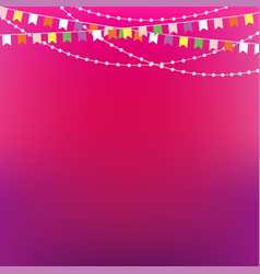 festive background party invitation design vector image