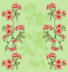 Flowers bacground vector