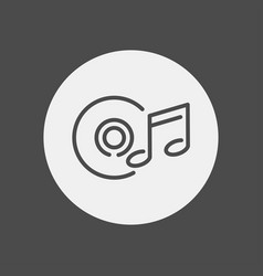 playlist icon sign symbol vector image