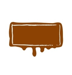 stamp Chocolate vector image