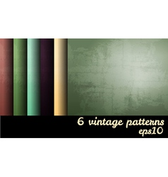 Vintage grunge blank backgrounds set vector