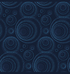 luxury abstract seamless pattern modern dot and vector image