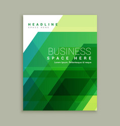 Abstract business brochure template design vector