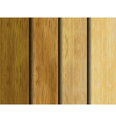 Bamboo wood texture set vector
