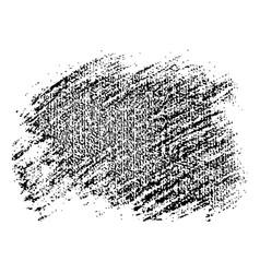 black speckled blob vector image
