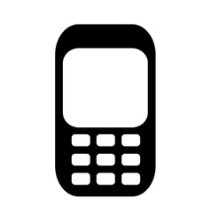Cellphone pictogram icon image vector