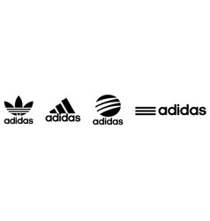 Collection adidas logo vector