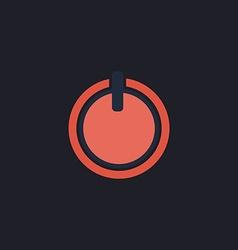 cup top computer symbol vector image
