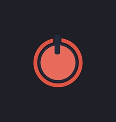 Cup top computer symbol vector
