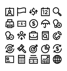 Finance and money colored icons 2 vector