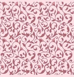 Flower seamless pattern background vector