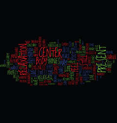 From chaos to center text background word cloud vector