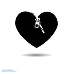 heart icon a symbol of love valentine s day vector image