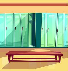 Locker room seamless pattern vector
