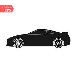 luxury car icon super car design concept unique vector image
