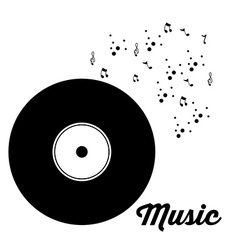 Music design vector image