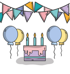 Nice party to celebrate special day vector