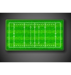 Rugby stadium vector image vector image
