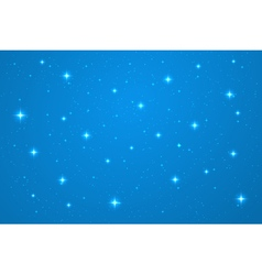 Blue night background vector image