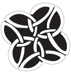 Celtic Crosses vector image vector image