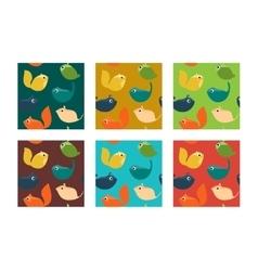 Animal Patterns vector image